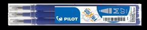 Pilot FriXion Ball 07 Náplň sada 3 ks - modrá