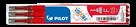 Pilot FriXion Point Náplň sada 3 ks - červená