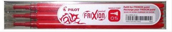 Pilot FriXion POINT Náplň do rolleru sada 3 ks - červená