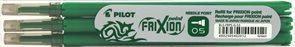 Pilot FriXion POINT Náplň do rolleru sada 3 ks - zelená