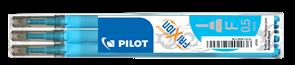 Pilot FriXion Point Náplň sada 3 ks - sv.modrá