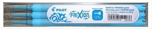 Pilot FriXion POINT Náplň do rolleru sada 3 ks - sv.modrá