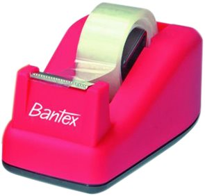 Bantex Odvíječ lepící pásky TD100 - růžový