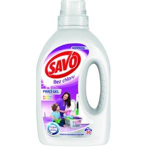 Savo gel na praní - barevné prádlo 20 dávek