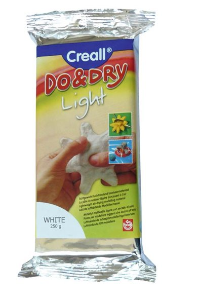 Creall Modelovací hmota samotvrdnoucí 250 g - bílá