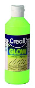 Creall  Luminiscentní barva 250 ml -  zelenožlutá