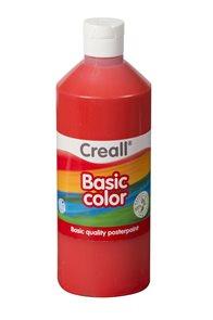 Temperová barva Creall 500 ml - světle červená