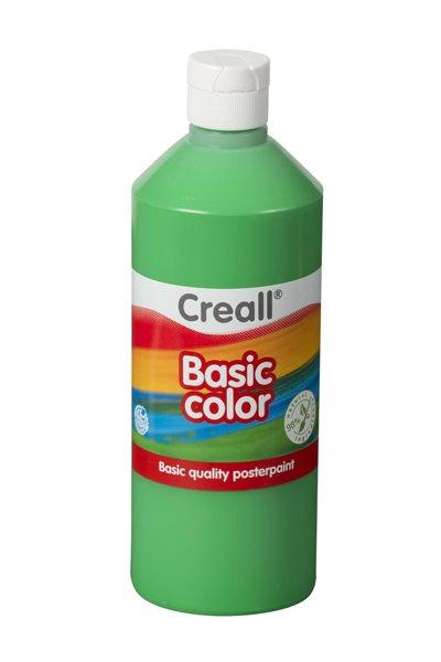 Temperová barva Creall 500 ml středně zelená