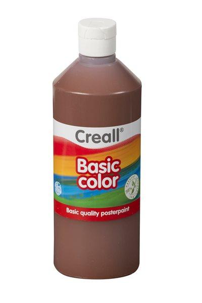 Temperová barva Creall 500 ml tmavě hnědá