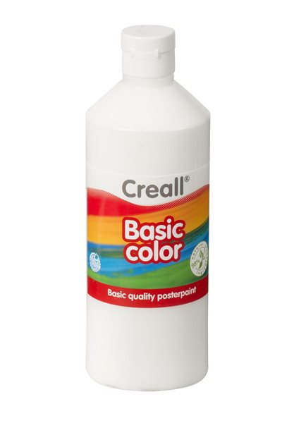 Temperová barva Creall 500 ml bílá