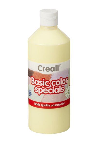 Temperová barva Creall 500 ml pastelově žlutá