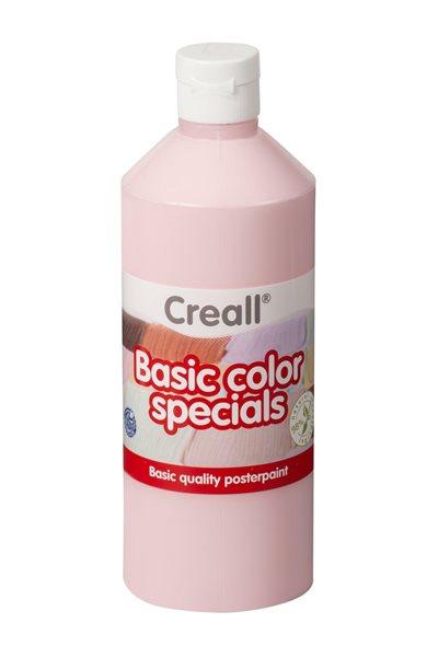 Temperová barva Creall 500 ml pastelově červená