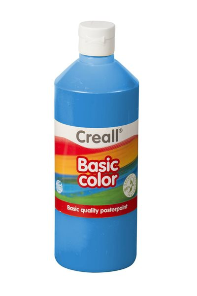 Temperová barva Creall 500 ml modrá