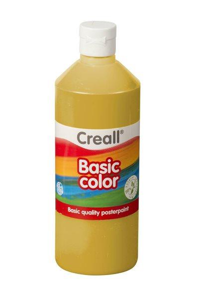 Temperová barva Creall 500 ml okrová