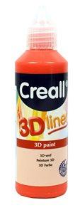 Barva 3D Liner, 80 ml, červená Creall