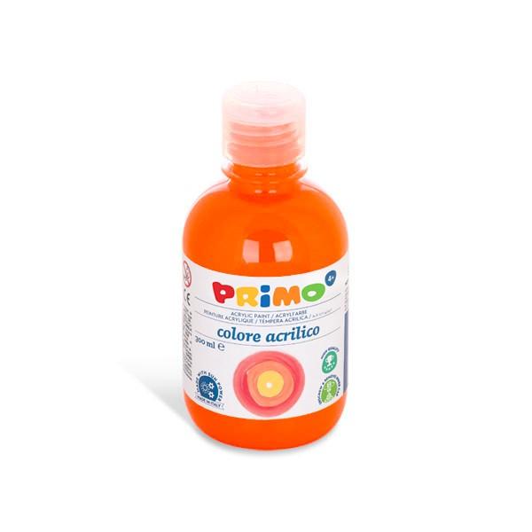 Primo Akrylová barva Acrilica, 300 ml - oranžová, Sleva 20%