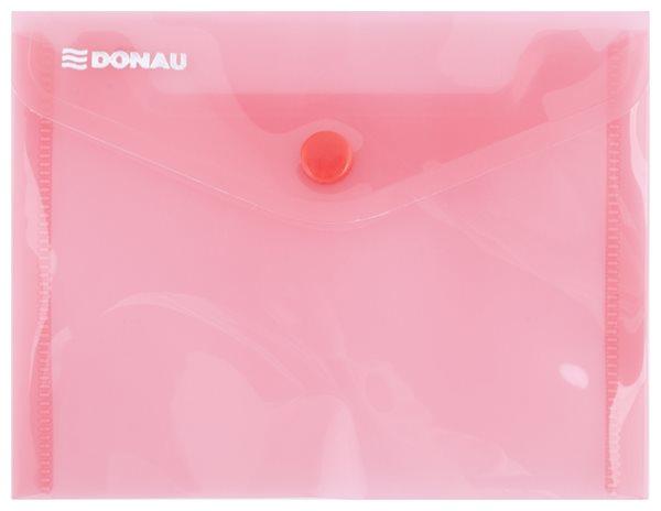 Obálka plastová A6 - červená