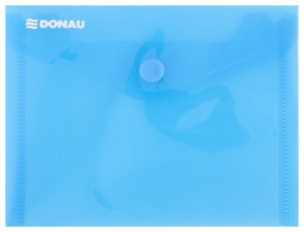 Obálka plastová A6 - modrá