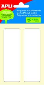 APLI Samolepicí etikety v sáčku 31x100 mm - bílé
