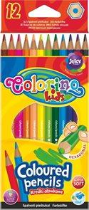 Pastelky Colorino - 12 barev