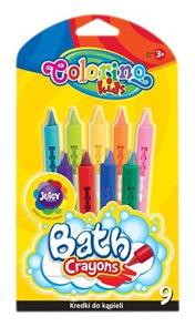 Pastelky do vany Colorino - 9 barev