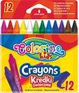 Voskovky Colorino - 12 barev