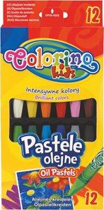 Olejové pastely Colorino - 12 barev