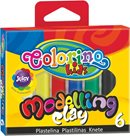 Modelovací hmota Colorino - 6 barev