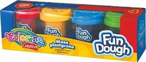 Modelovací hmota Fun Dough - 4 barvy ( 224 g )