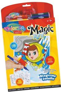 Magic light omalovánky - 12 motivů