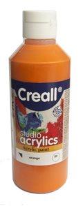 Akrylová barva Creall 250 ml - oranžová