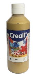 Akrylová barva Creall 250 ml - zlatá