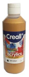 Akrylová barva Creall 250 ml - starožitná zlatá