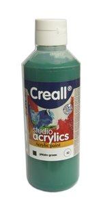 Akrylová barva Creall 250 ml - sytá zelená