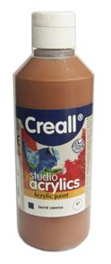 Akrylová barva Creall 250 ml - sienna pálená