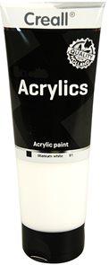 Akrylová barva Creall 250 ml - bílá