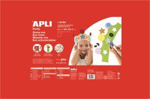 APLI Pěnovka 60 x 40 cm - 1 list - červená
