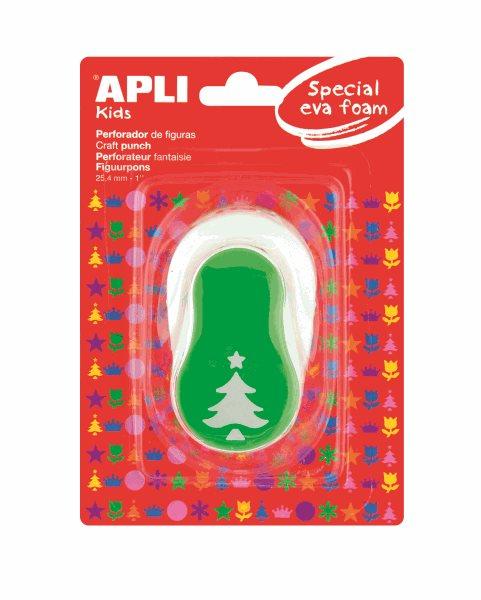 Děrovačka na papír i pěnovku - vánoční stromek - 25,4 mm, Sleva 25%