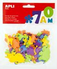 APLI Pěnovka - zvířata - 100 ks, mix barev