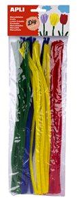 Modelovací drátky APLI - barevný mix - 50 ks