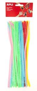 Modelovací drátky - barevný mix pastelový - 50 ks
