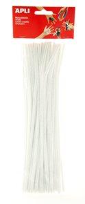 Modelovací drátky APLI - bílé - 50 ks