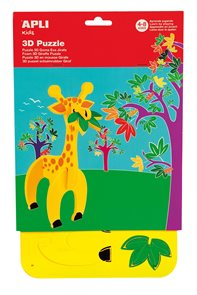 Malá kreativní sada 3D - Žirafa
