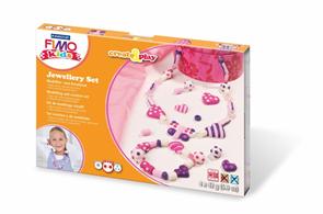 Sada FIMO Kids Create & Play - Šperková sada - srdce