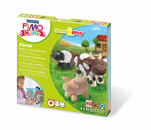 Sada FIMO Kids Form & Play - Farma