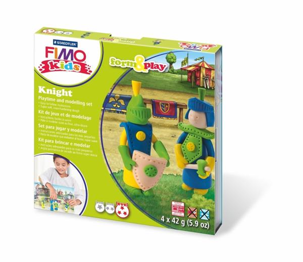 Sada FIMO Kids Form & Play - Rytíři