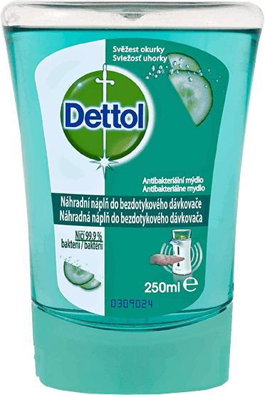Detol náhradní mýdlo 250 ml - svěžest okurky