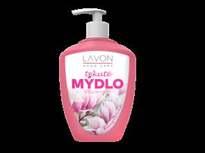Lavon tekuté mýdlo s pumpičkou 500 ml - magnolia (růžové)