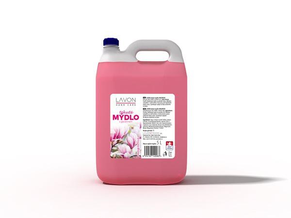 Lavon tekuté mýdlo 5 l - magnolia