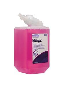 KLEENEX Luxusní pěnové mýdlo na ruce 6 x1 l růžové